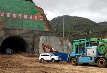 延黄高速刘家桌子隧道,延黄高速,刘家桌子隧道