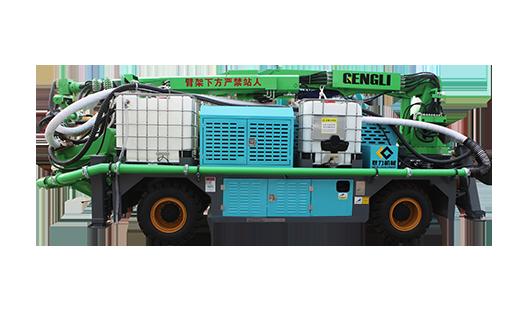 GHP3015E工程混凝土湿喷台车